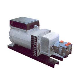 3 phase piston type hydraulic generator 12kw